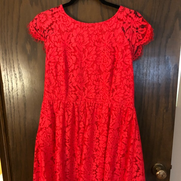Jessica Simpson Dresses & Skirts - Jessica Simpson Coral Lace Dress